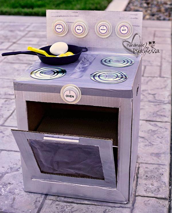 Come creare una cucina con il cartone