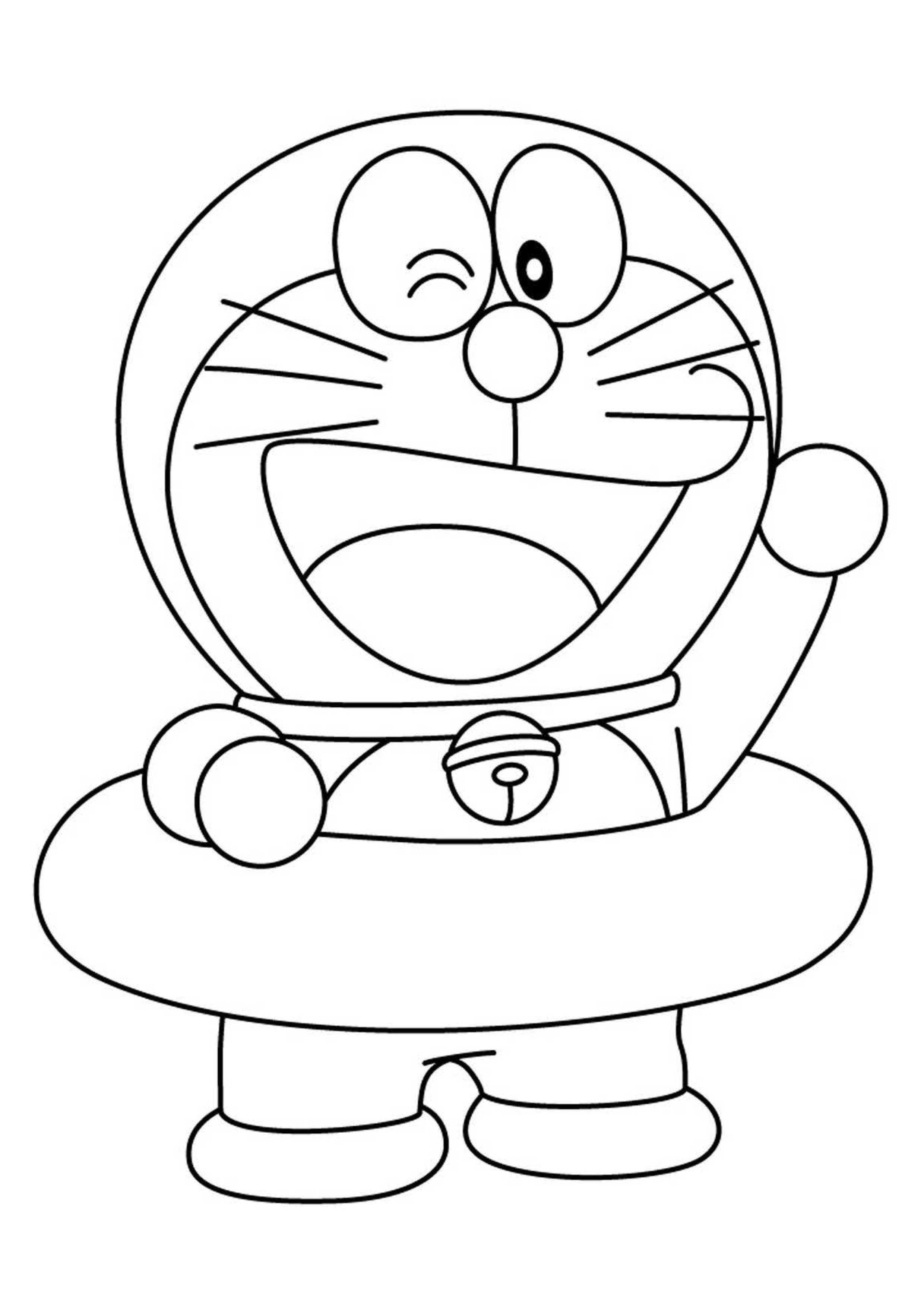 28 Disegni Di Doraemon Da Colorare Pianetabambini It