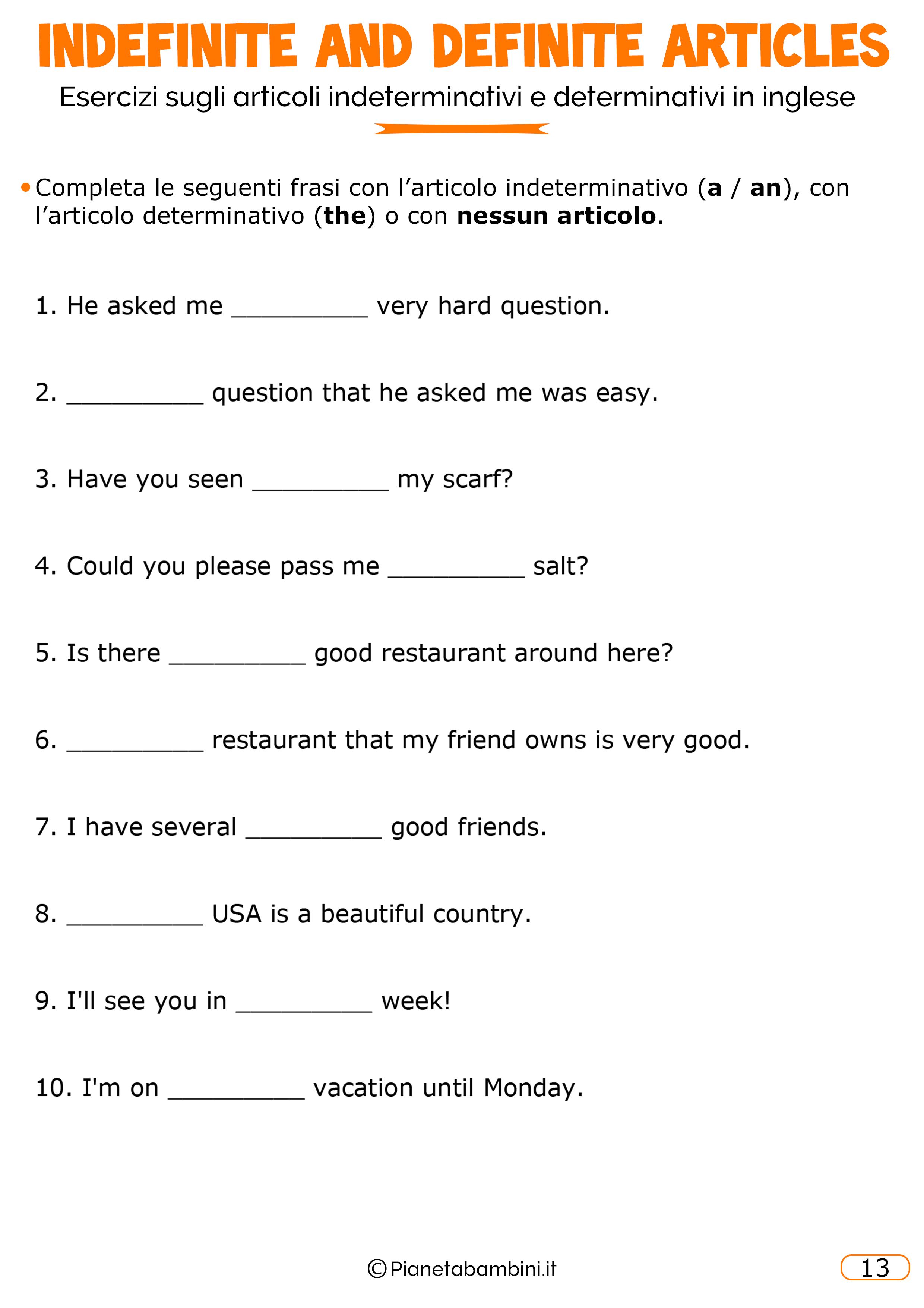 Esercizi-Articoli-Inglese-13