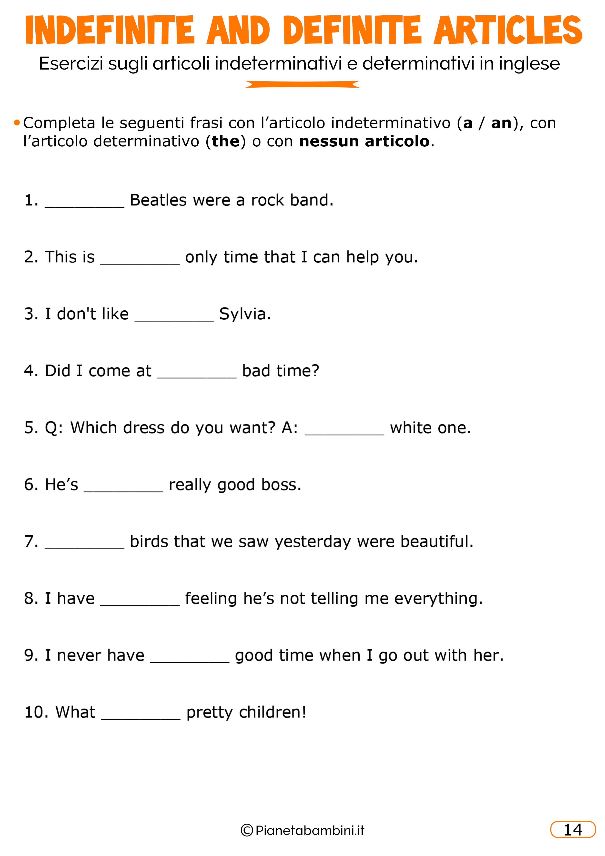 Esercizi-Articoli-Inglese-14