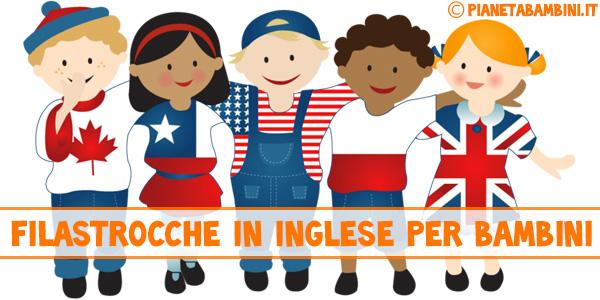 Filastrocche in inglese per bambini con testi e audio