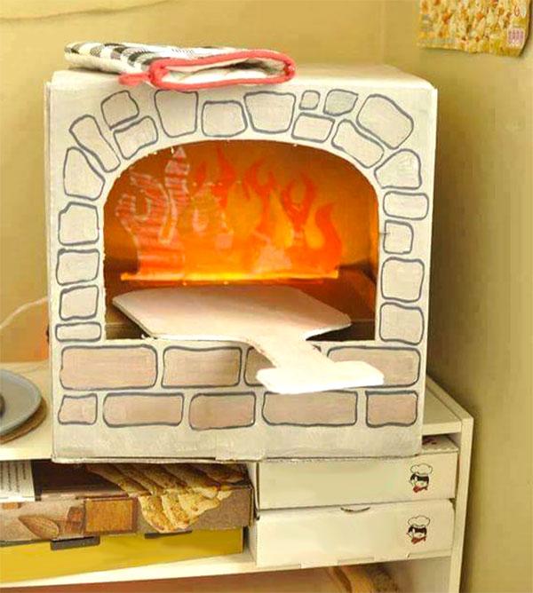 Come realizzare un forno di cartone