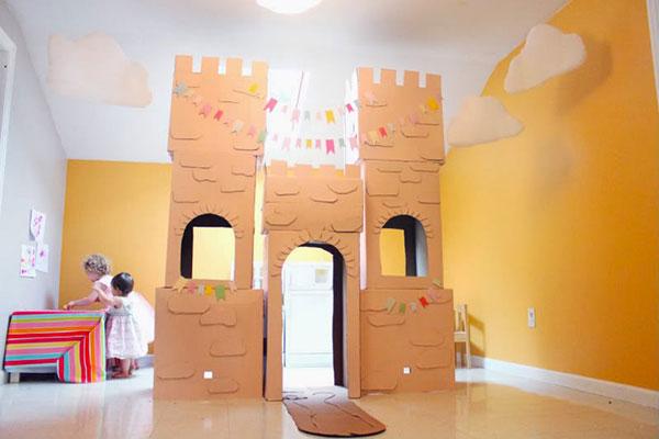 Come creare un fortino con il cartone