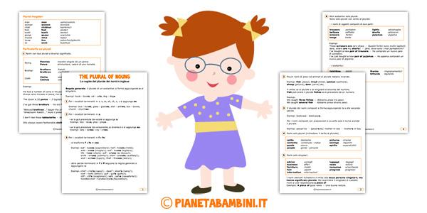 Regole ed eccezioni del plurale dei nomi in inglese