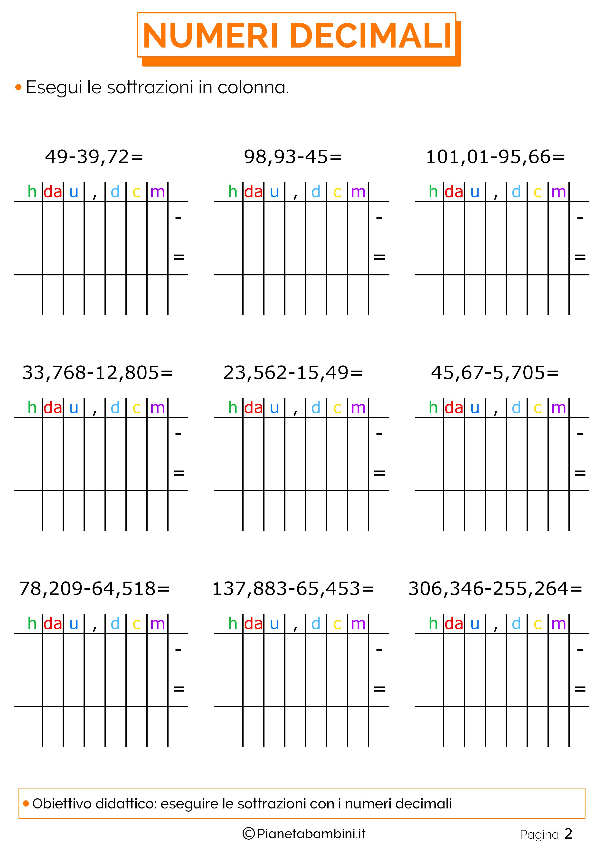 Sottrazioni-Numeri-Decimali-2