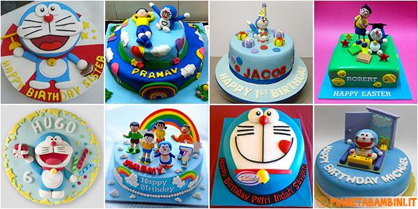 Idee per creare torte di Doraemon in PDZ