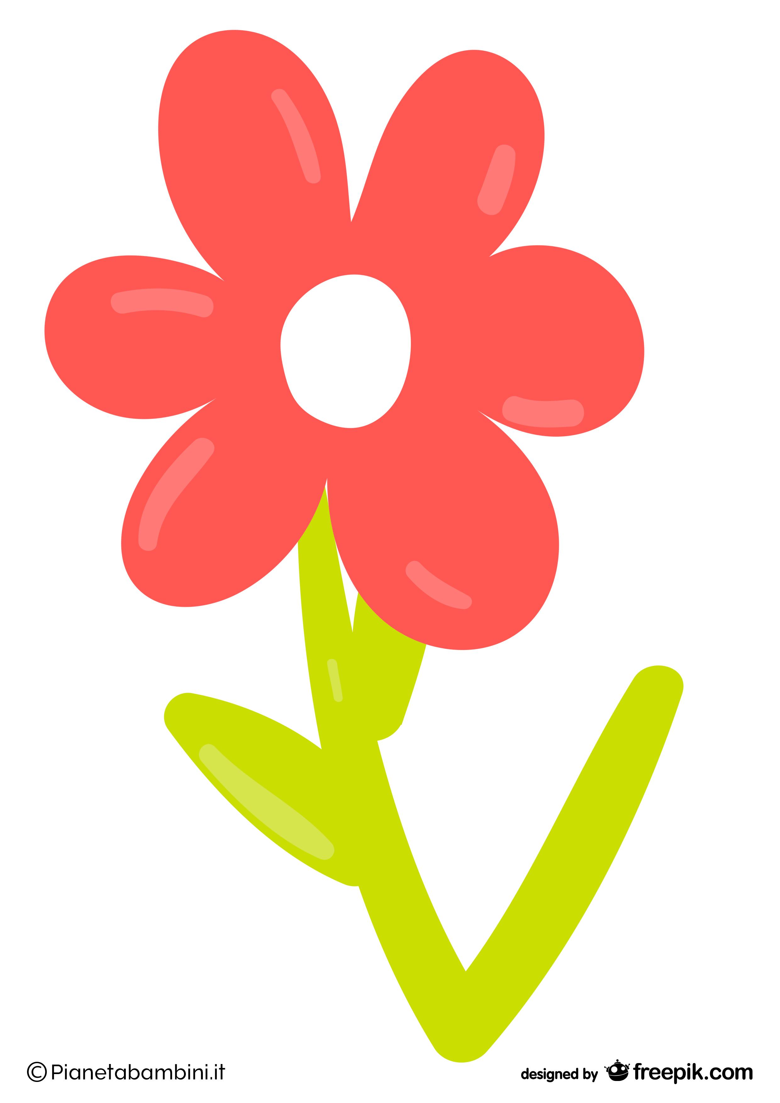 Addobbi di primavera per finestre aule e camerette da for Pesciolini da colorare per bambini