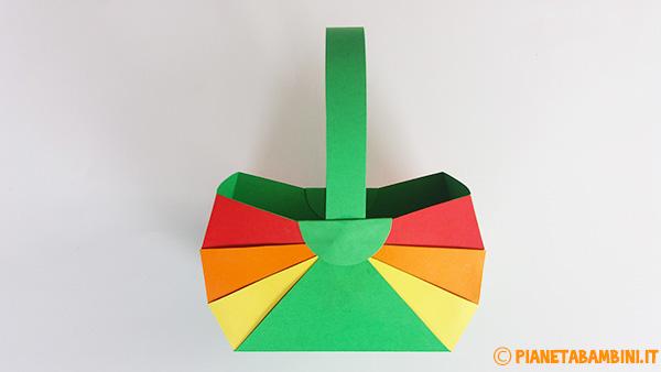 Come applicare il manico al cestino pasquale fai da te