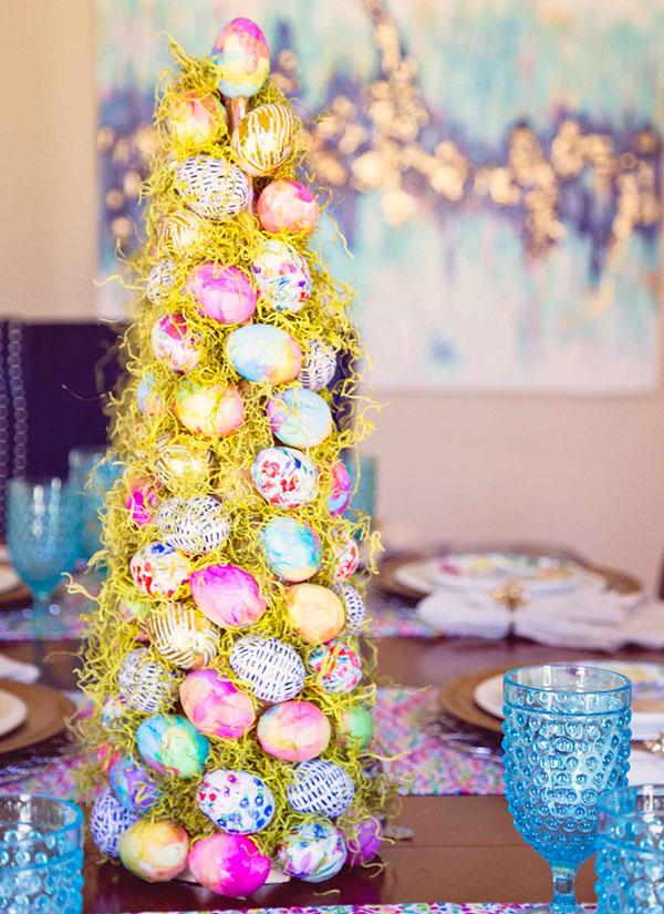 Albero di Pasqua da tavolo
