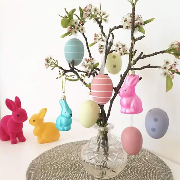 Albero di Pasqua in vaso