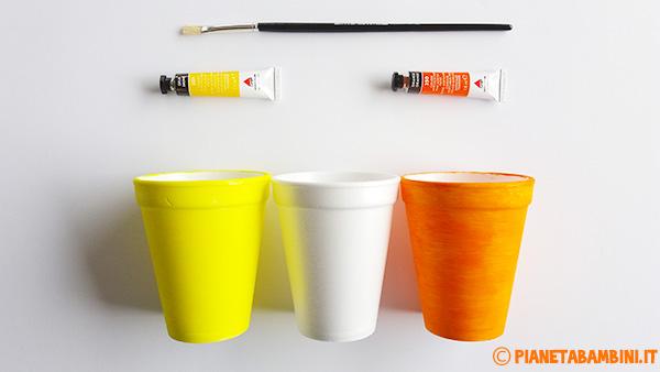 Come colorare i bicchieri per creare le decorazioni pasquali