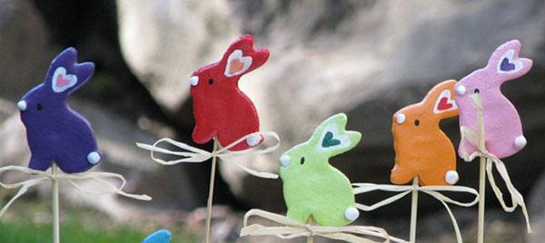 Come creare dei coniglietti con la pasta di sale