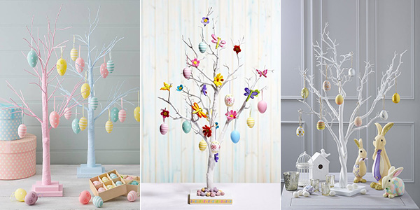 Come decorare alberi di Pasqua fai da te