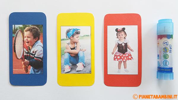 Come applicare le foto al cellulare di carta