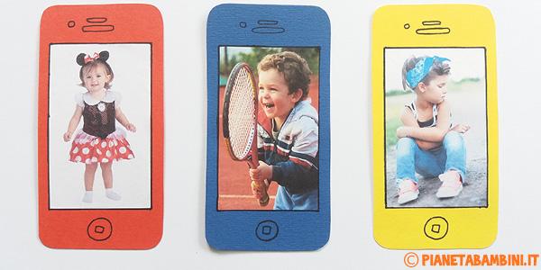 Come creare un cellulare di cartoncino con foto