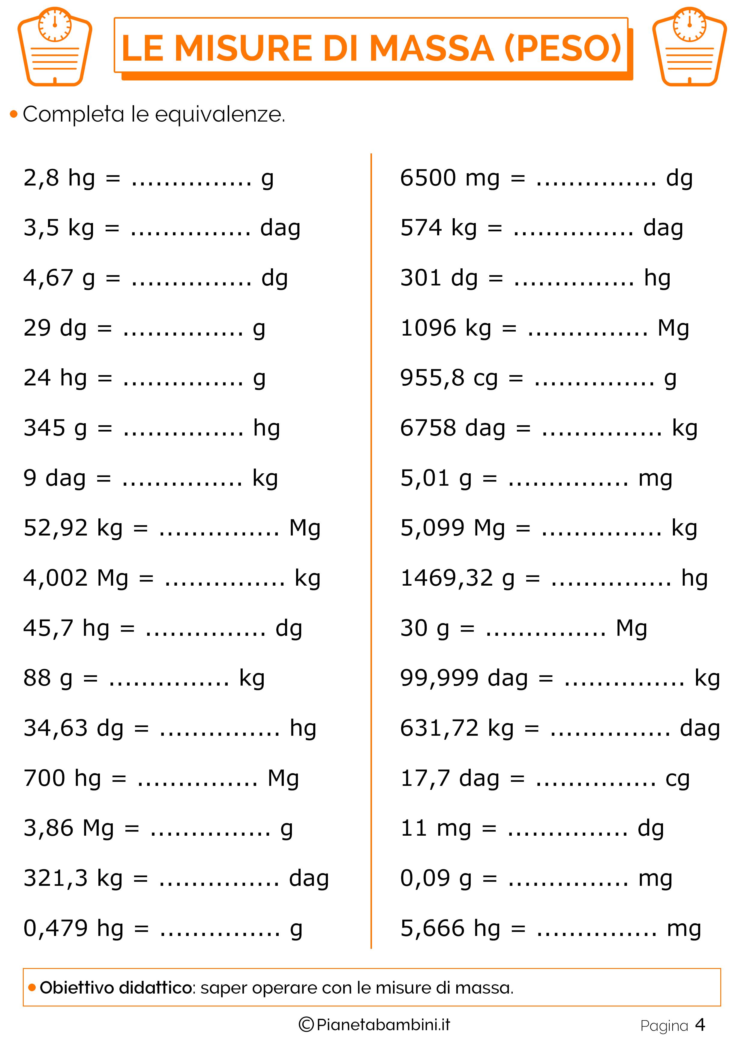 Equivalenze-Misure-Massa-Peso-2
