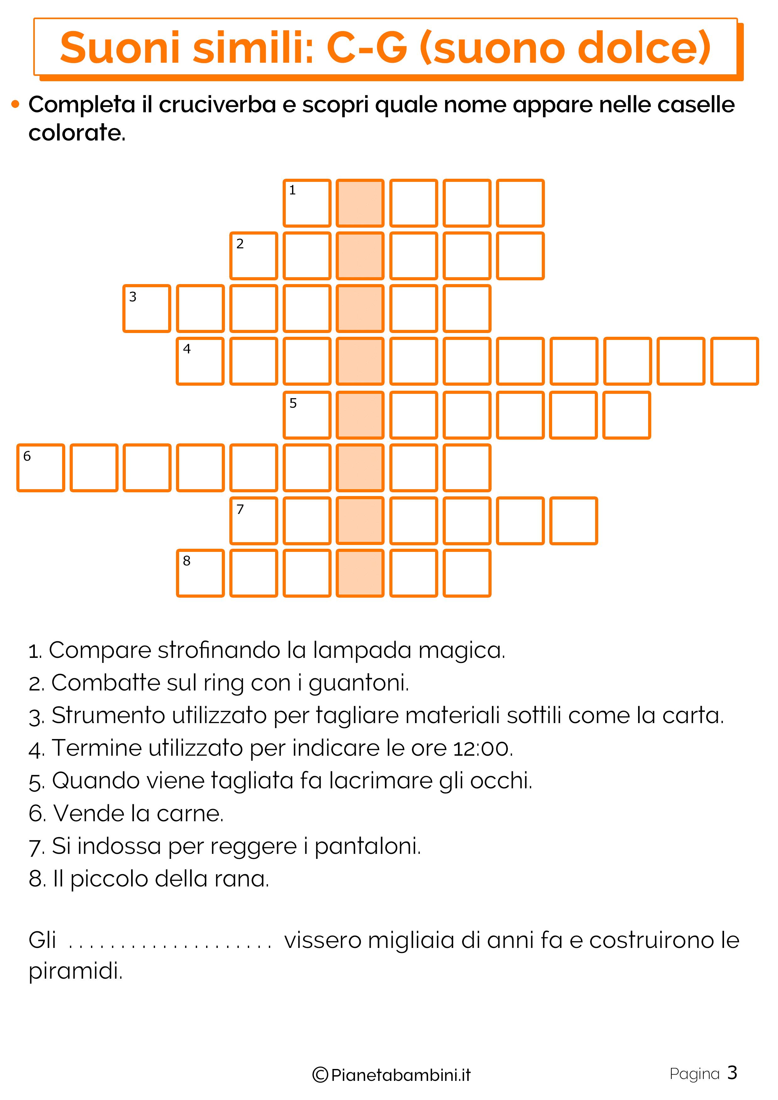 Schede suoni simili C o G suono dolce pagina 3