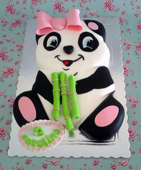 Torta di Kung Fu Panda con decorazioni in pasta di zucchero n.38