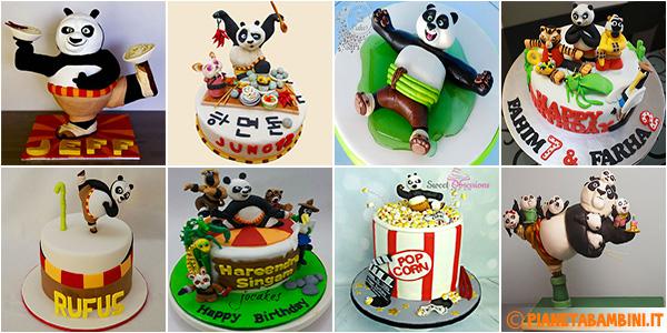 Idee per decorare torte di Kung Fu Panda in PDZ