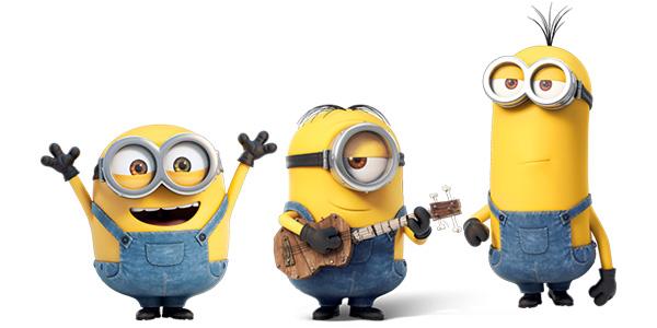Le canzoni dei Minions da ascoltare online