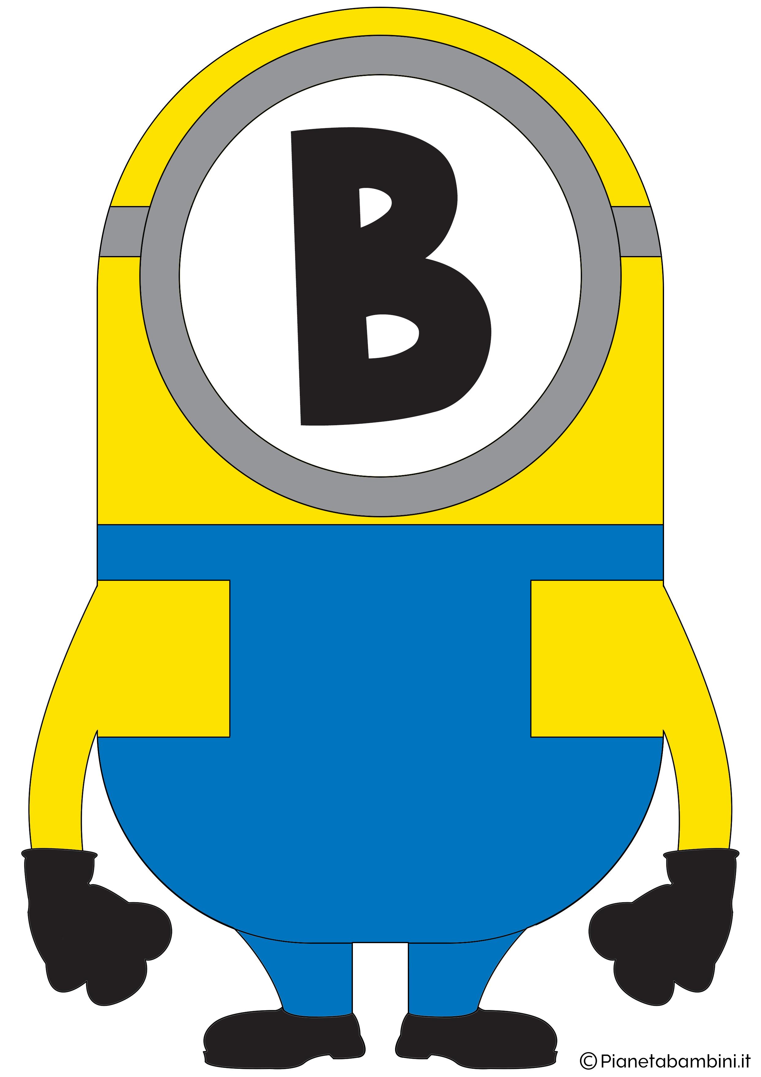 Festone-Minions-Lettera-B