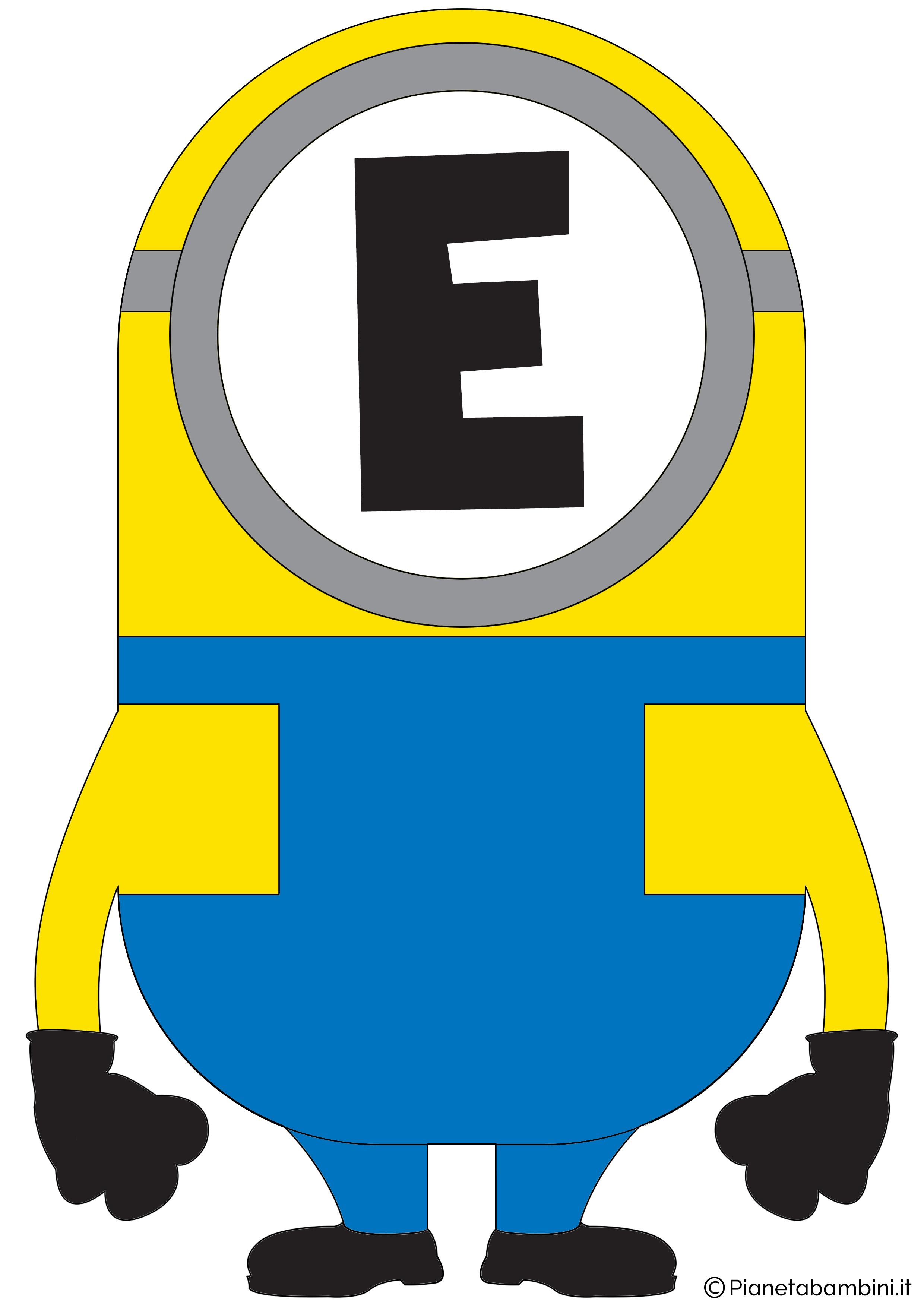 Festone-Minions-Lettera-E