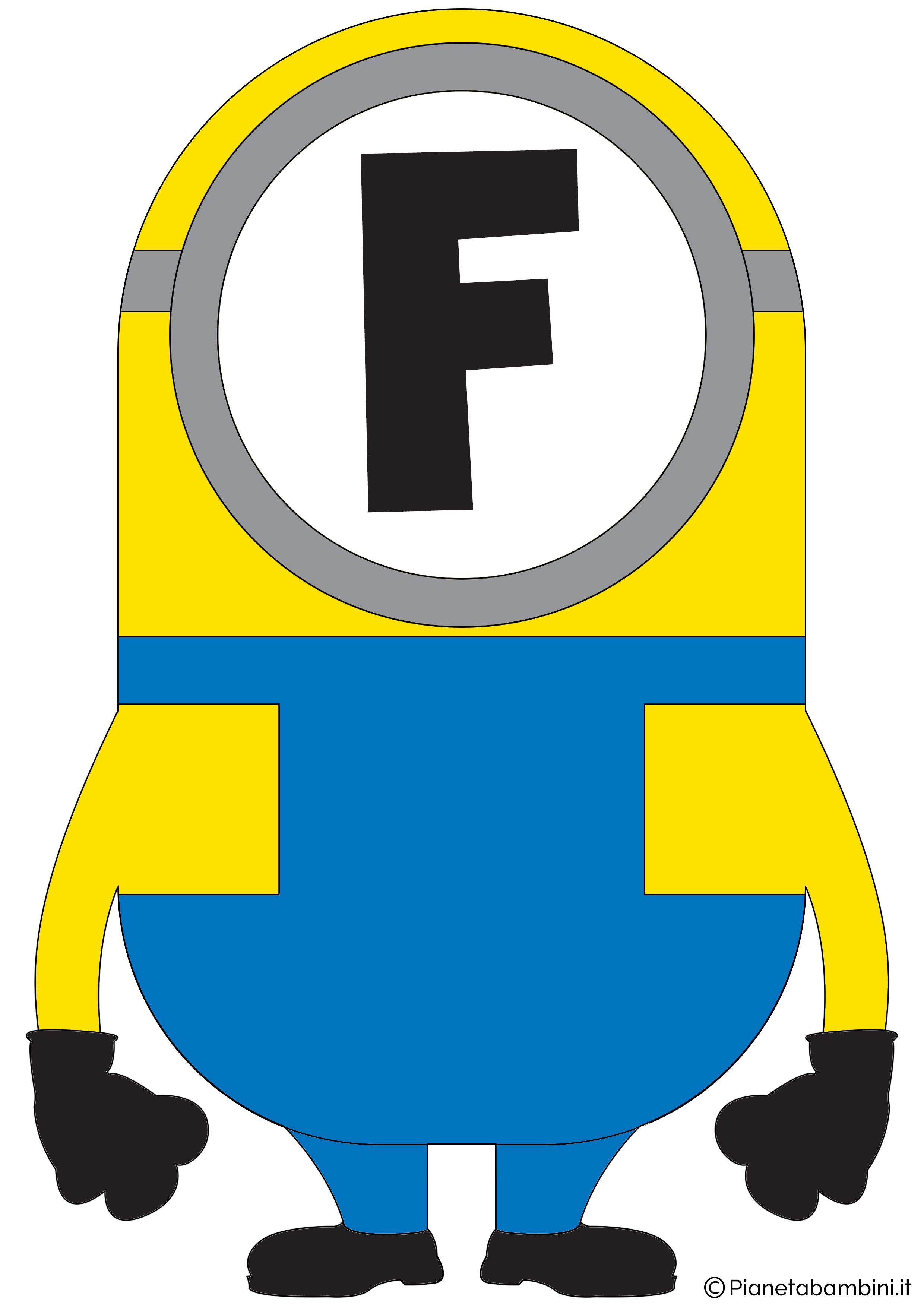Festone-Minions-Lettera-F