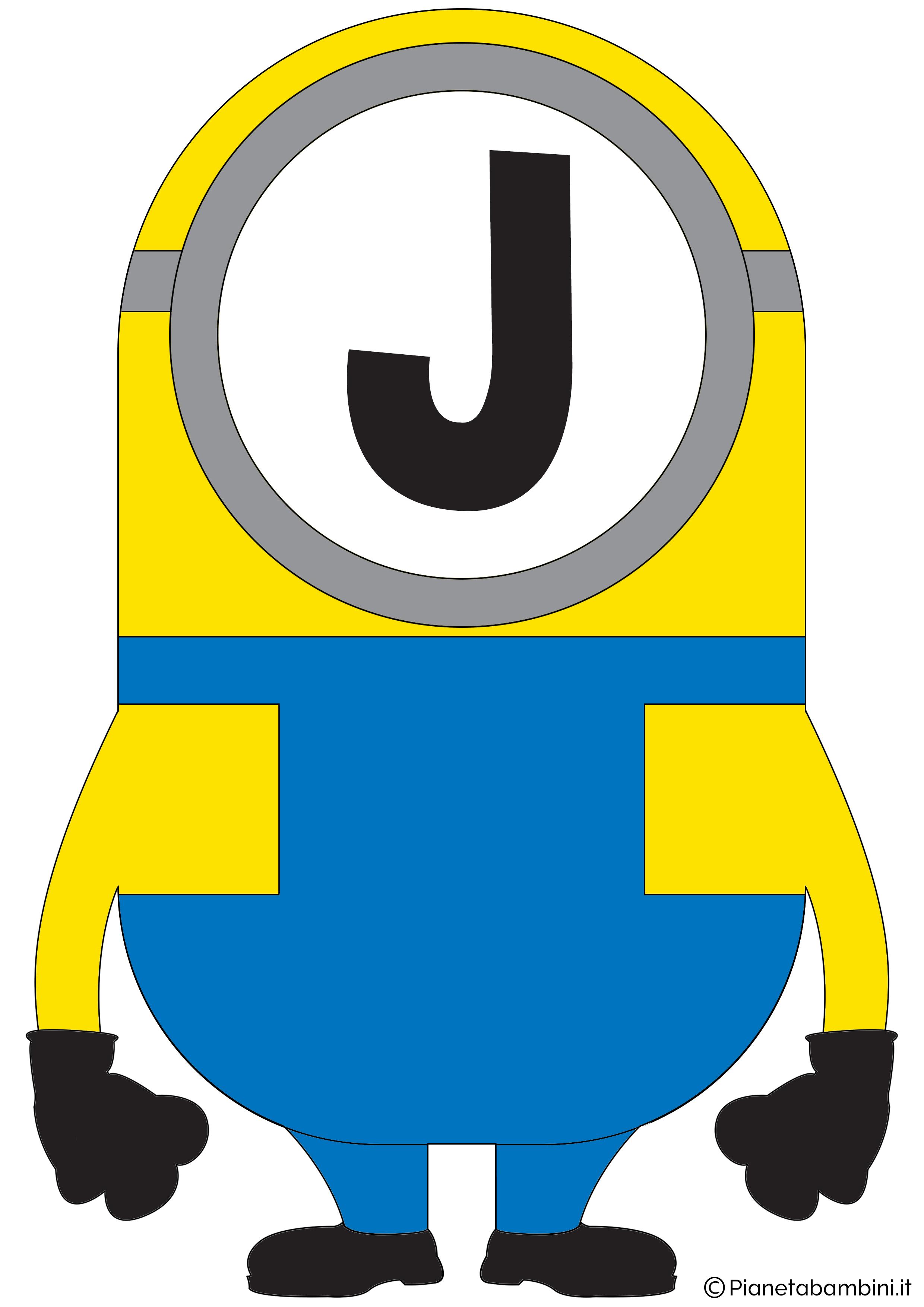 Festone-Minions-Lettera-J