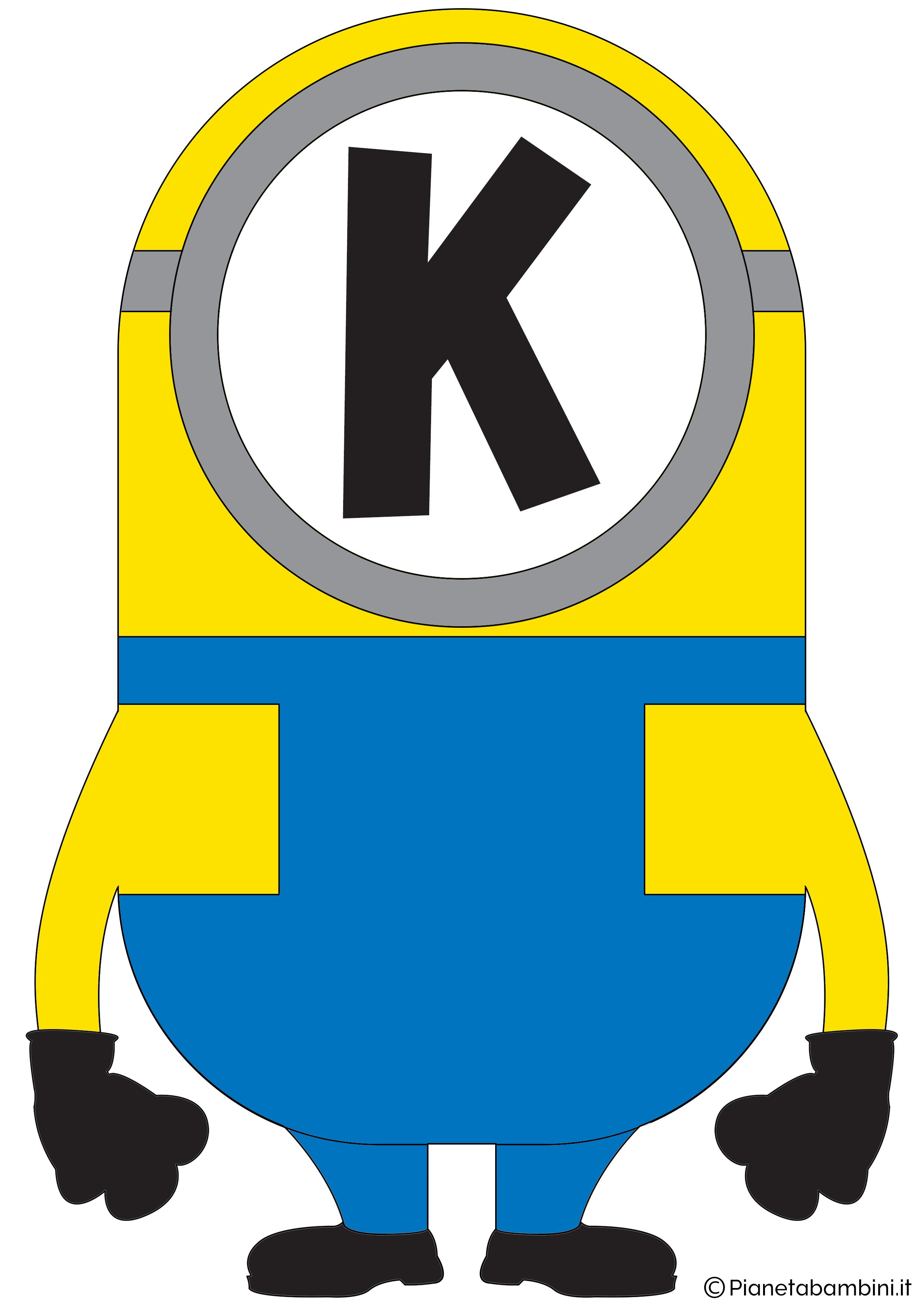 Festone-Minions-Lettera-K