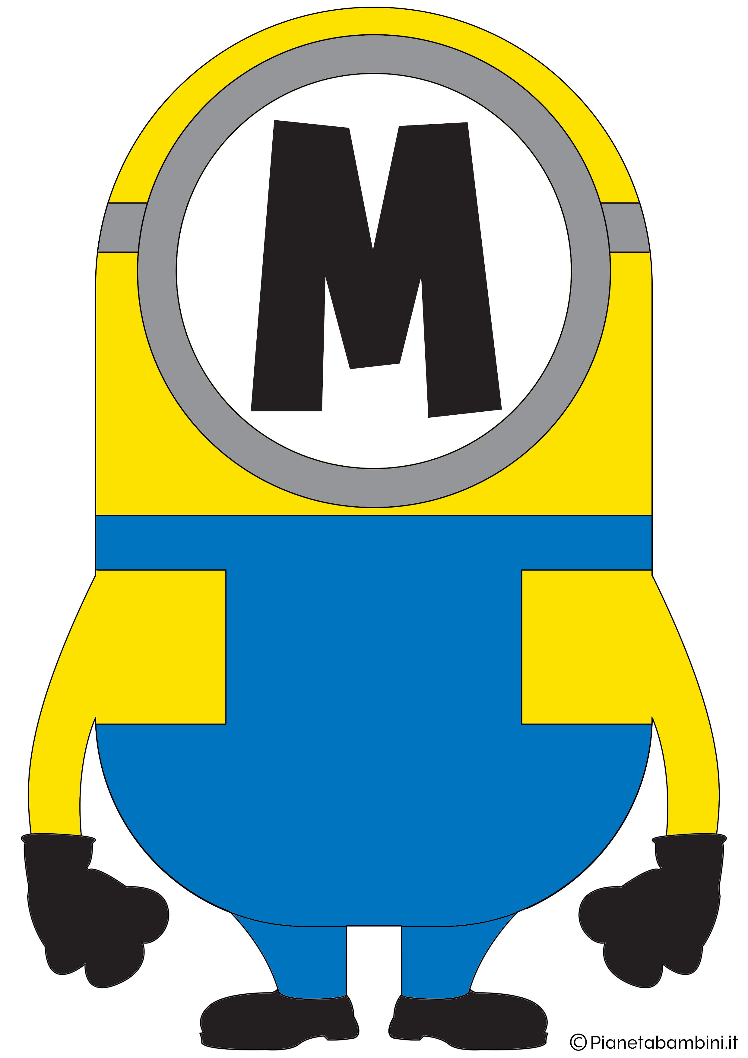 Festone-Minions-Lettera-M