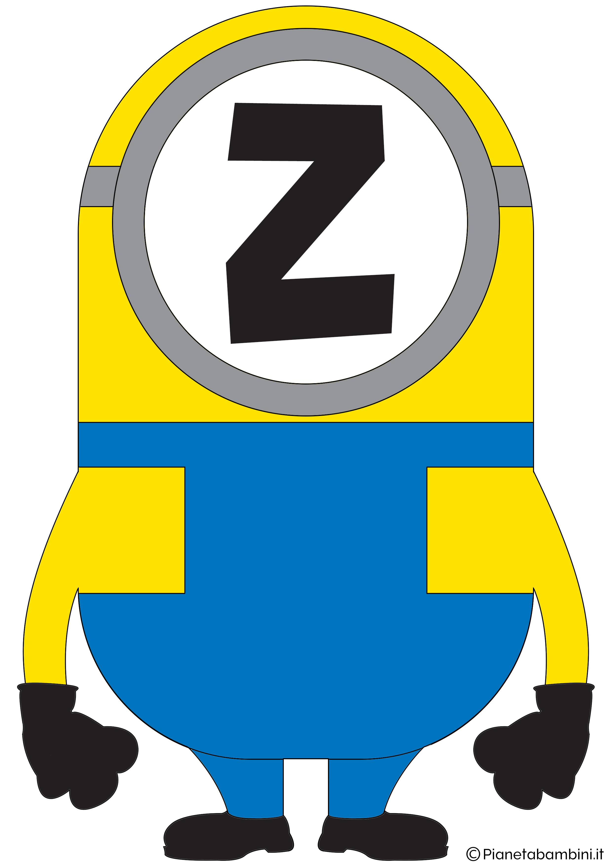Festone-Minions-Lettera-Z