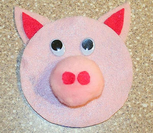 Come creare un maiale con CD riciclati