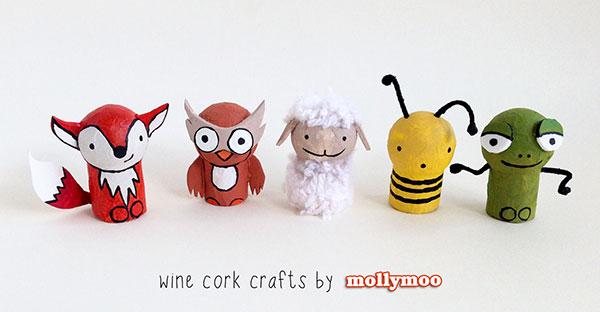 Come creare diversi animali con tappi di sughero