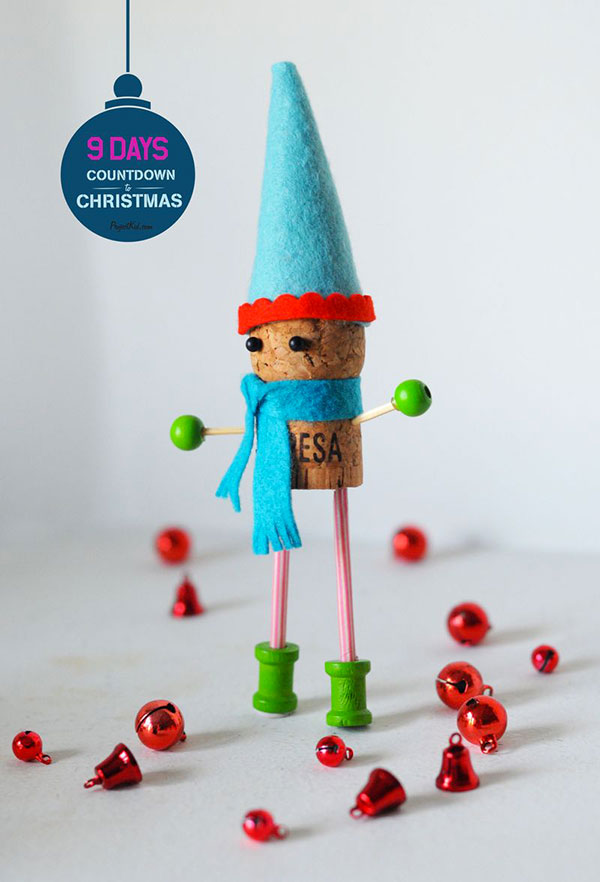 Come creare un elfo con tappi di sughero