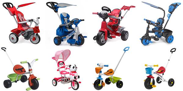 I migliori tricicli con maniglione e multifunzione per bambini