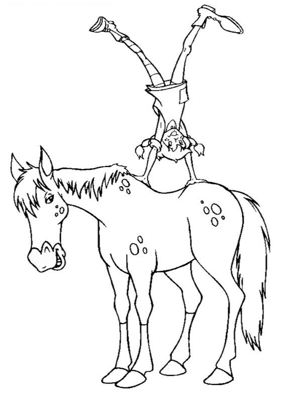 Pippi Langkous Paard Kleurplaat 26 Disegni Di Pippi Calzelunghe Da Colorare