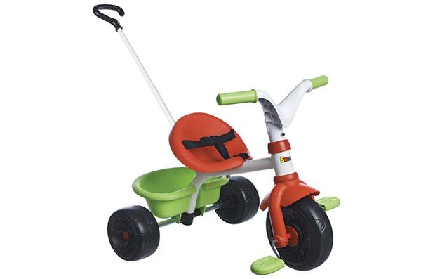 Triciclo con maniglione Be Fun di Smoby