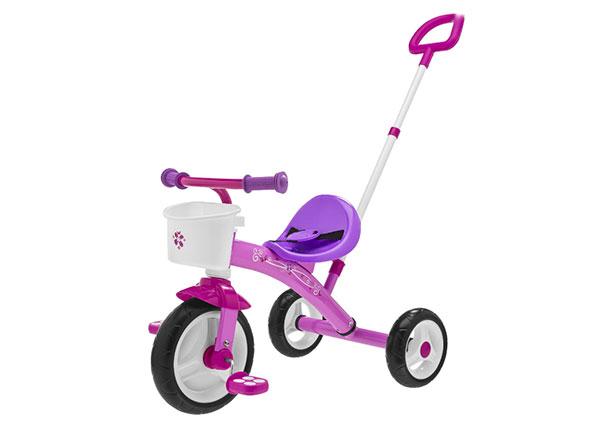 Triciclo con maniglione U Go modello rosa di Chicco