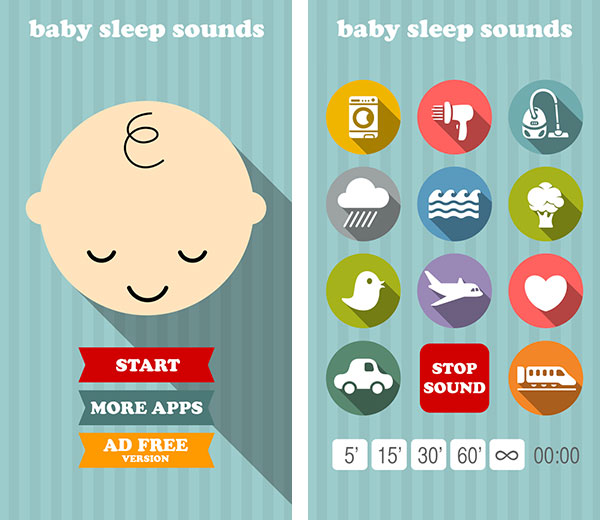 Immagine dell'app per neonati Baby Spleep Sounds
