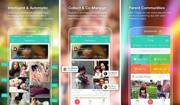 Immagine dell'app per neonati Peekaboo Moments