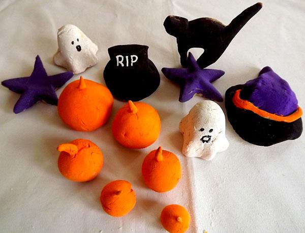 Come creare delle decorazioni di Halloween con la pasta di sale