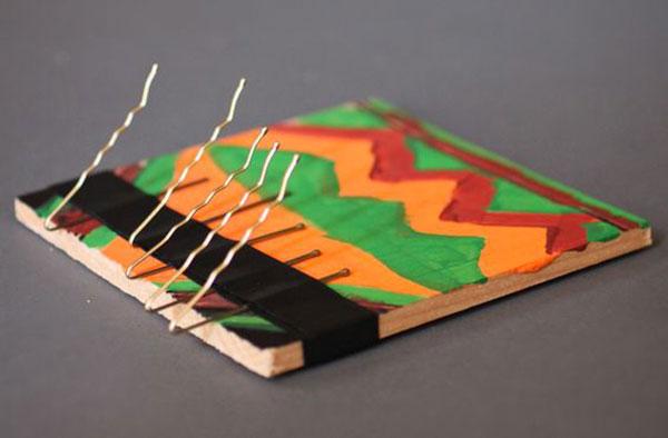 Come creare una kalimba con legno e forcine
