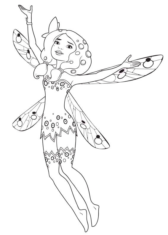 mia and me coloring pages - photo#28