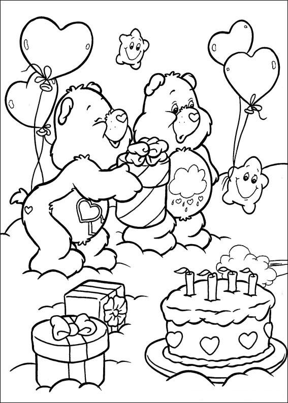 40 Disegni degli Orsetti del Cuore