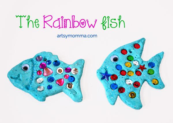 Come creare dei pesci con la pasta di sale