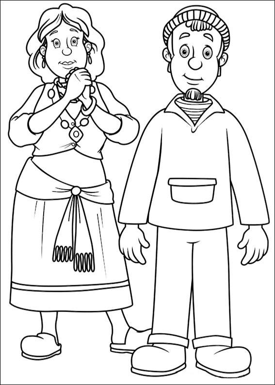 75 disegni di sam il pompiere da colorare - Dessin de pompiers a imprimer ...