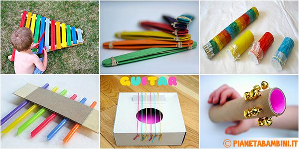 Tutorial per costruire strumenti musicali con i bambini