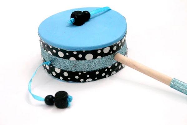 Come creare un tamburello fai da te