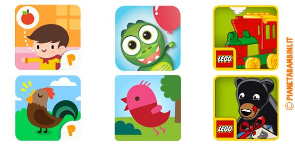 App educative per bambini di 2 anni
