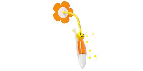 Applique a forma di ape per la cameretta dei bambini